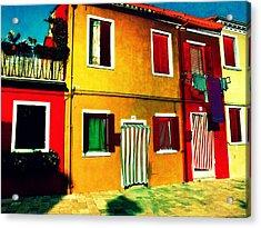 Pittoresco Villaggio Acrylic Print