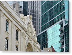 Pittsburgh Architecture Acrylic Print by Rivernorthphotography