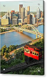 Pittsburgh Duquesne Incline Acrylic Print