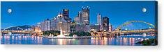 Pittsburgh New 2  Acrylic Print by Emmanuel Panagiotakis