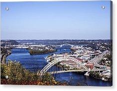 Pittsburgh North Acrylic Print by Michelle Joseph-Long