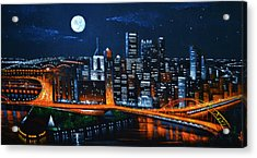 Pittsburgh  Sold Acrylic Print