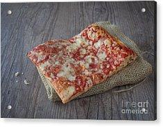 Pizza Slice Acrylic Print by Sabino Parente