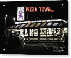 Pizza Town Acrylic Print