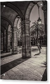 Placa Reial Shadows Acrylic Print