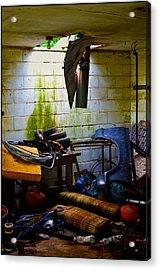 Place For My Stuff Acrylic Print by Jeffrey Platt