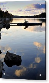 Place To Relax Acrylic Print by Douglas Pike