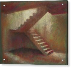 Place With Stairs Acrylic Print