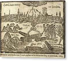 Plague In London Acrylic Print by British Library