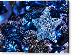 Blue Christmas Photograph By Shelley Neff