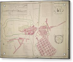 Plan Of Limerick Acrylic Print by British Library