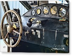 Plane Areocar Control Panel Acrylic Print by Paul Ward