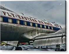 Plane Fly Eastern Air Lines Acrylic Print by Paul Ward