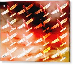 Plane Sky High Acrylic Print