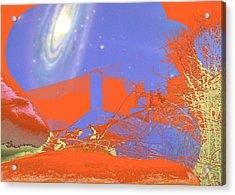 Planet Chuck Acrylic Print