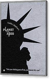Planet Of The Apes Acrylic Print