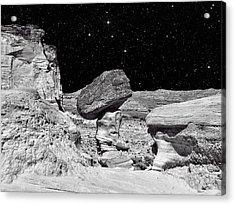 Planet Oz - Southwest Surreal Landscape Acrylic Print by Vlad Bubnov