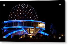 Acrylic Print featuring the photograph Planetarium by Silvia Bruno