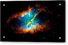 Planetary Nebula Acrylic Print by Amanda Struz