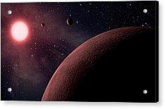 Planetary System Koi-961 Acrylic Print by Movie Poster Prints