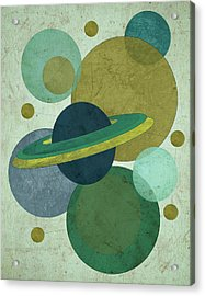 Planets I Acrylic Print by Shanni Welsh