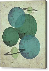 Planets II Acrylic Print by Shanni Welsh