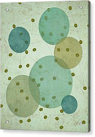 Planets IIi Acrylic Print by Shanni Welsh