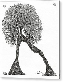 Plank Acrylic Print