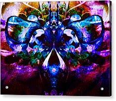 Plant Abstract Acrylic Print by Dawn  Van Doorn