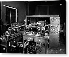 Plant Physiology Laboratory Equipment Acrylic Print by American Philosophical Society