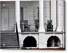 Plantation Porch Acrylic Print by John Rizzuto