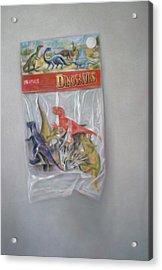 Plastic Dinosaurs  Acrylic Print
