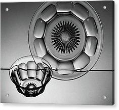 Plate And Bowl Acrylic Print