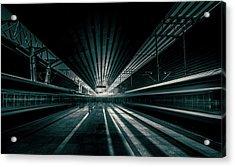 Platform Beijing Acrylic Print by Baidongyun