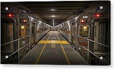 Platform Eight At Union Station Acrylic Print