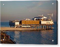 Platform Nightclub, Lighthouse Beach Acrylic Print by Panoramic Images
