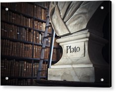 Plato  Acrylic Print