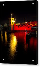 Acrylic Print featuring the photograph Platt Street Bridge by Ben Shields