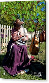 Play A Song For Me Acrylic Print by Liane Wright