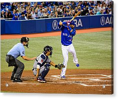 Play At The Plate Acrylic Print