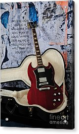 Play It Loud Acrylic Print