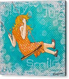 Play Acrylic Print