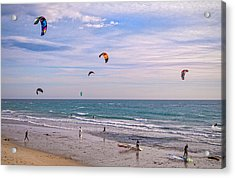Play Time At County Line Acrylic Print by Lynn Bauer