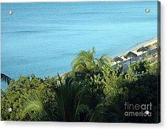 Playa Ancon Trinidad Acrylic Print