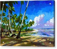 Playa Bonita Acrylic Print
