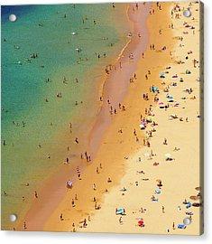 Playa De Las Teresitas, Tenerife, Spain Acrylic Print by Chris Hepburn