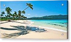 Playa Rincon Acrylic Print