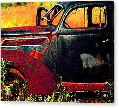 Acrylic Print featuring the photograph Played Out by Christopher McKenzie