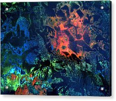 Dendrites Acrylic Print