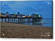 Playful Pier Acrylic Print